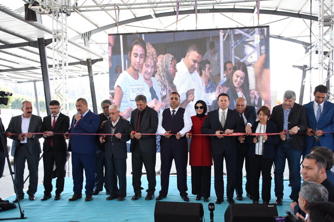 Tekke Mahallesi Kapalı Semt Pazarı Törenle Açıldı