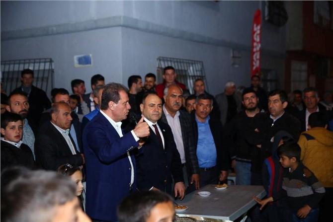 CHP Mersin Adayı Vahap Seçer, Roman Vatandaşlara Projelerini Anlattı