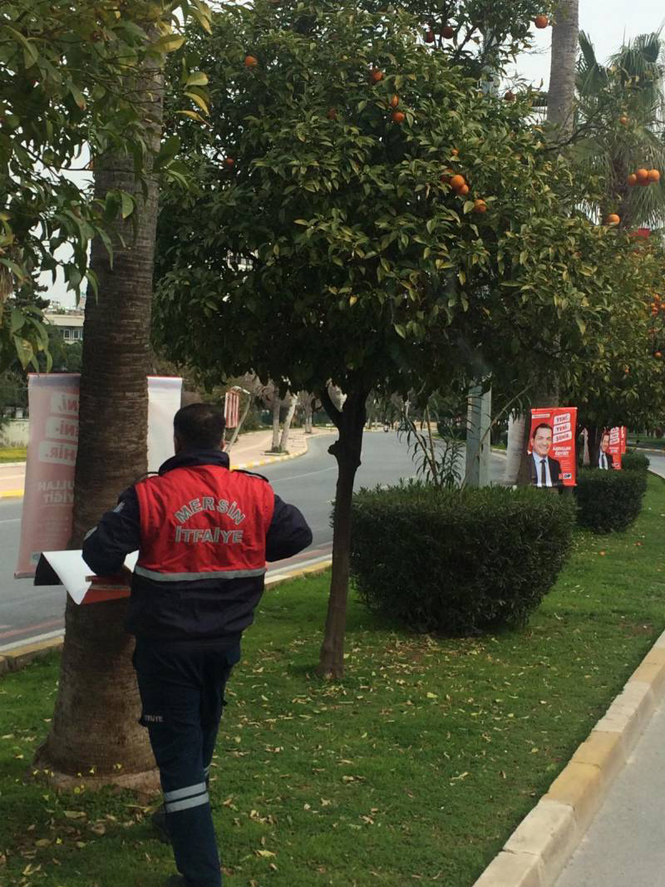 Mersin Büyükşehir Belediyesinden Seçim Afişlerine İlişkin Basına ve Kamuoyuna Duyuru