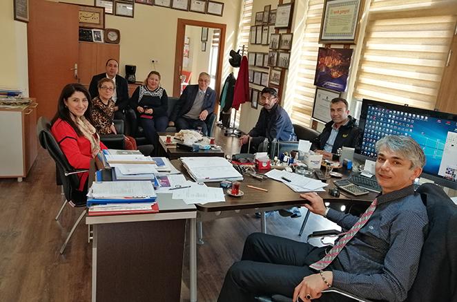 Tarsus ve Kırşehir Kardeş Borsaların Personeli Tarsus'ta Buluştu