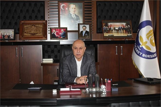 """Tarsus Ticaret Borsası Başkanı Murat Kaya, Tarsus'ta""""İstihdam Seferberliği"""" Kampanyasına destek verdi."""