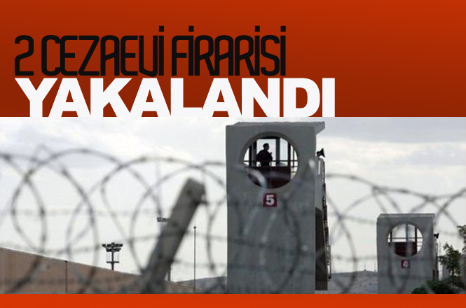 Mersin'de Jandarma Ekipleri Cezaevi Firarisi 2 Kişiyi Yakaladı