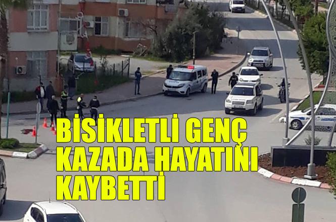 Mersin Tarsus'ta Feci Kaza, Bisikletli Aykut Kılınç İsimli Genç Hayatını Kaybetti