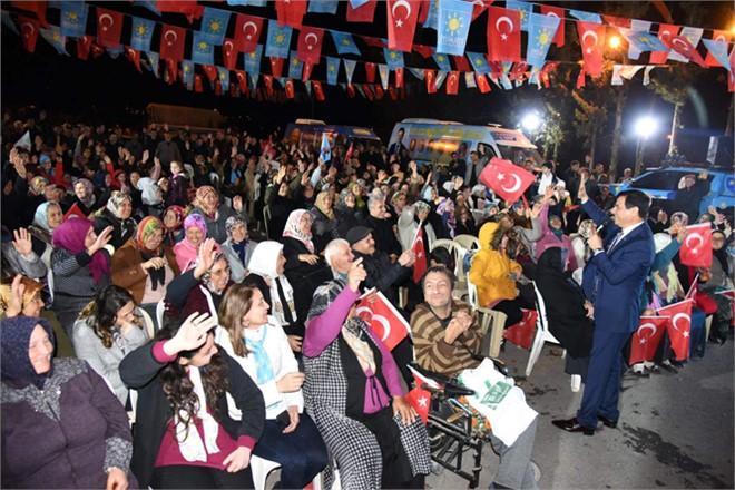 İyi Parti Anamur Belediye Başkan Adayı Başkan Türe'den Alataş'ta Gövde Gösterisi