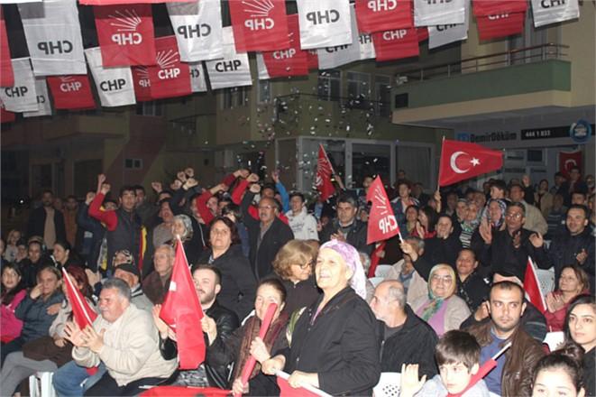 """Mersin Silifke Belediye Başkanı Dr. Turgut, """"Teşekkürler Gazi Mahallesi Teşekkürler halkımız…"""""""