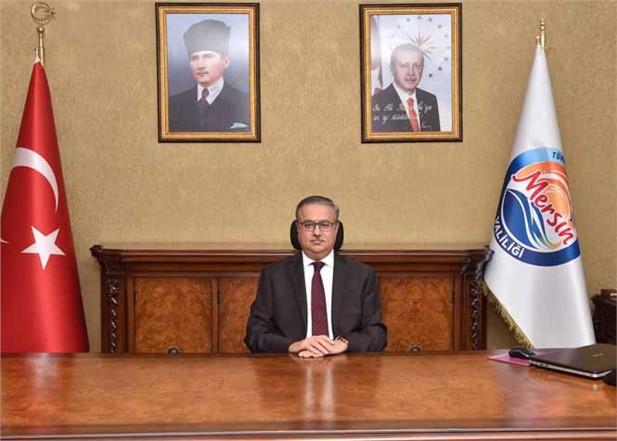 Mersin Valisi Ali İhsan Su'dan, Çanakkale Deniz Zaferi'nin 104. Yıl Dönümü ve Şehitleri Anma Günü Mesajı