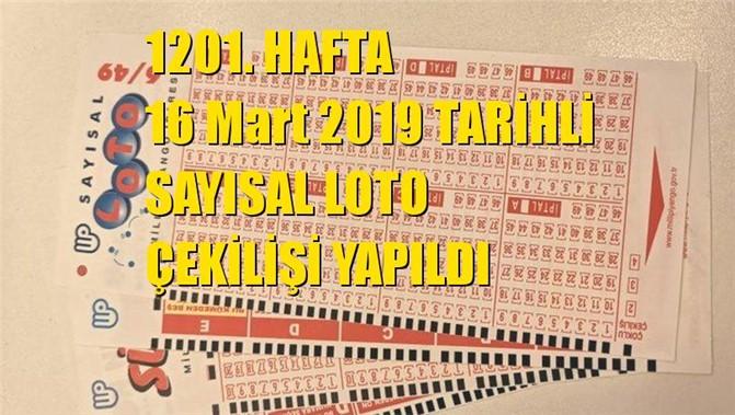 Sayısal Loto Sonuçları 16 Mart 2019 Tarihli Çıkan Sayılar: 05 - 11 - 27 - 31 - 41 - 42