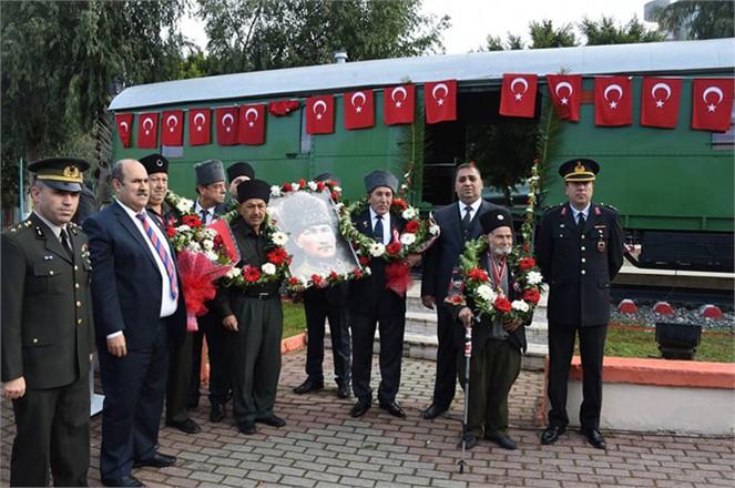 Atatürk'ün Tarsus'a Gelişinin 96'ncı Yıldönümü Törenle Kutlandı