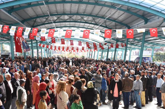 Tarsus Belediyesi Tarafından Yapımı Tamamlanan, Anıt Mahallesi Kapalı Semt Pazarı Törenle Hizmete Açıldı