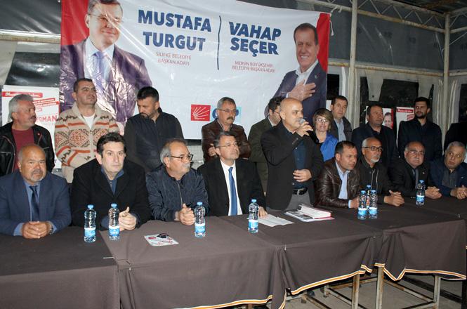 """CHP Silifke İlçe Başkanı Sungur, """"Silifke'de Chp Oyları Hızla Yükselişte"""""""