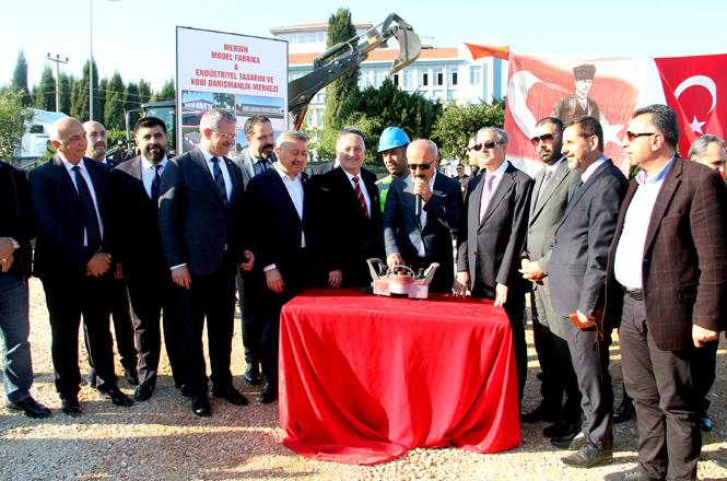 MTOSB'de Model Fabrika'nın Temeli Atıldı, Türkiye'nin 3. Model Fabrikası Mersin'de Kuruluyor