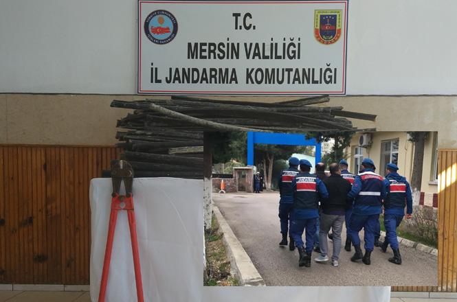 Mersin Gülnar'da Telekoma'a ait Telefon ve İnternet Kablolarını Çalanlar Yakalandı