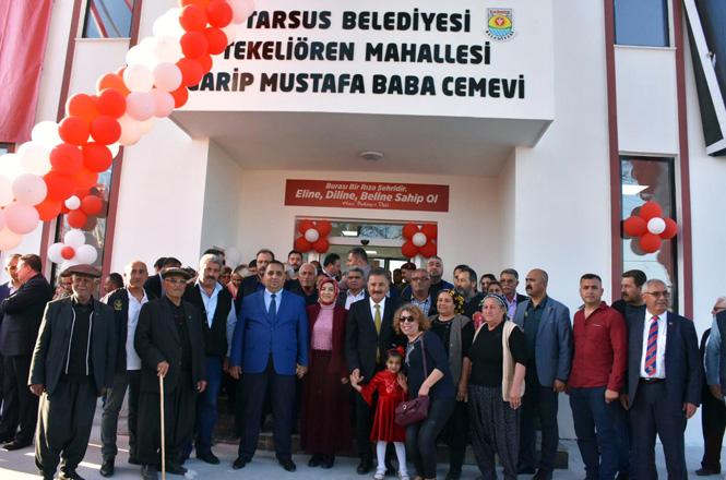 Belediye Tarafından yapılan Tekeliören Mahallesi Cemevi Törenle İbadete Açıldı