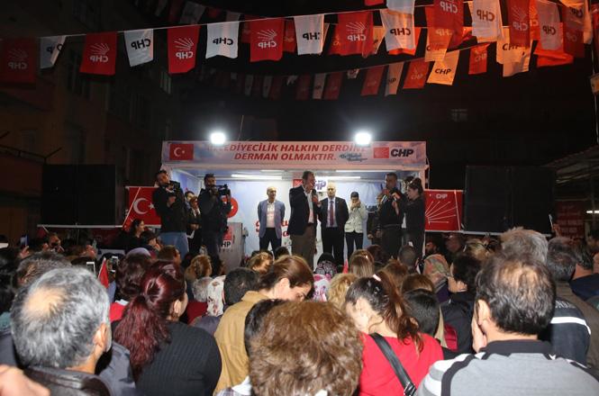 CHP'li Başkan Adayı Seçer'den, Toroslar ve Tarsus'ta Gövde Gösterisi