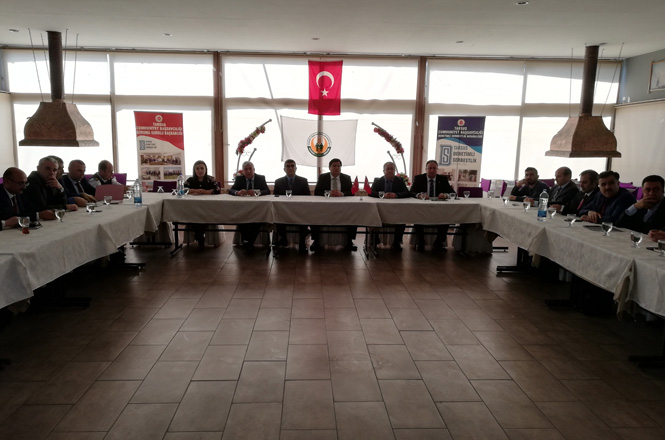 Tarsus Cumhuriyet Başsavcılığı Koruma Kurulu Toplantısı, Tarsus Tarım Kredi Kooperatifi Ev Sahipliğinde Gerçekleştirildi