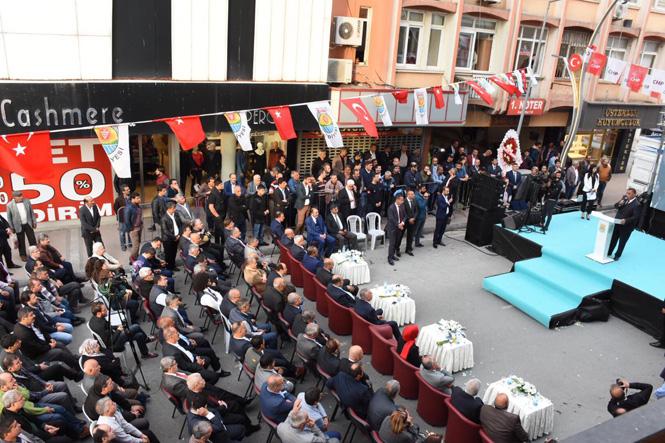 Tarsus'ta Esnaf Odaları Bir Çatı Altında Toplandı, Esnaf Odalar Birliği Düzenlenen Törenle Hizmete Açıldı