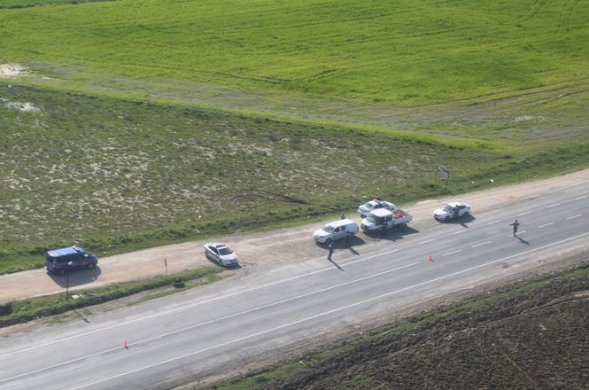 Jandarma Havadan Helikopter ve Drone İle Trafik Kontrolü Yaptı
