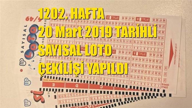 Sayısal Loto Sonuçları 20 Mart 2019 Tarihli Çıkan Sayılar: 01 - 05 - 22 - 26 - 40 - 49