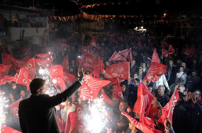 Mersin'in Silifke İlçesi Tosmurlu, Say ve Sarıcalar Mahallelerinde CHP Coşkusu