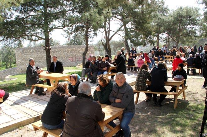 Açılış, Piknik Yapılarak Yapıldı
