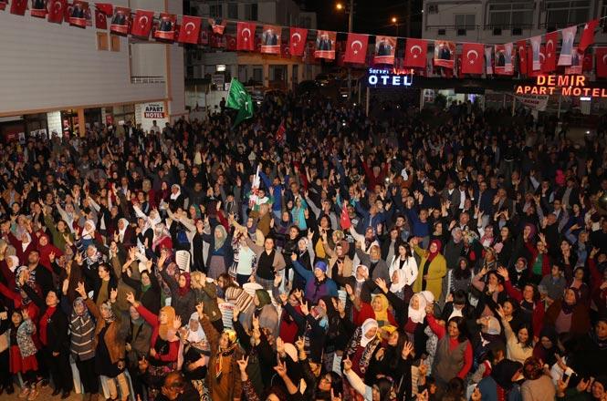 Mersin Erdemli Ayaş'ta Seçime Çok Az Zaman Kala Cumhur İttifakı Rüzgârı