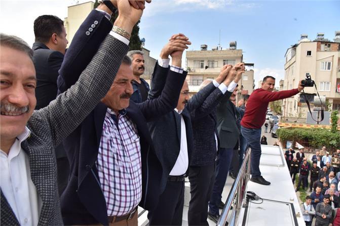 """Büyükşehir Adayı Başkan Hamit Tuna; """"Milletin Gönlü Bizden Yana"""""""