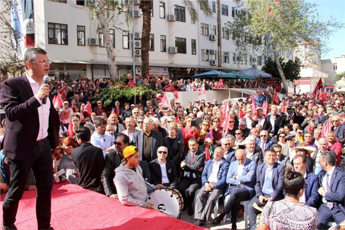 CHP'li Özgür Özel Silifke'de, İyi Partililere Seslendi