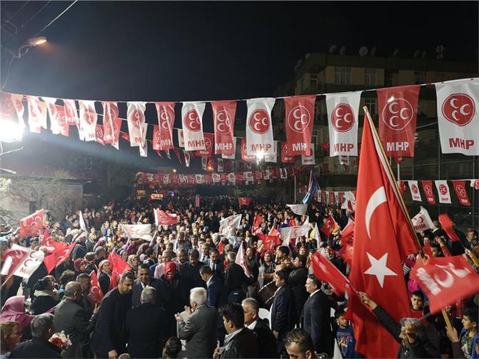 Tarsus Belediye Başkanı Şevket Can, Tarsus'un Gönlünü Feth Etmiş