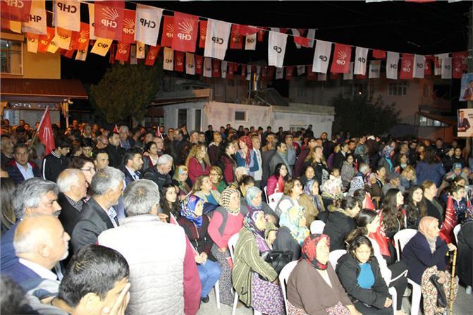 """CHP Silifke Adayı Başkan Turgut, """"Silifke'yi 15 Yıl Hizmetten Mahrum Bırakanlar Geri Gelmek İstiyorlar"""""""