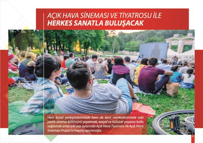 """Cumhur İttifakı Başkan Adayı Tuna; """"Kültür ve Sanata Dair Herşey Mersin'de Olacak"""""""