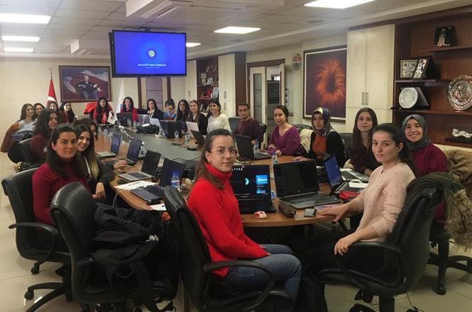 Geleceği Yazan Kadınlar Projesi Mersin'de Başladı