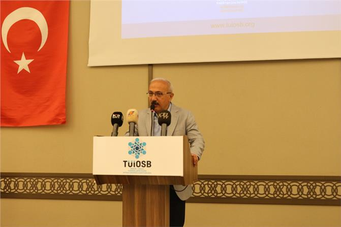 """TÜİOSB'in Toplantısı Yapıldı, """"Bu Hayali Birlikte Gerçekleştirelim"""""""