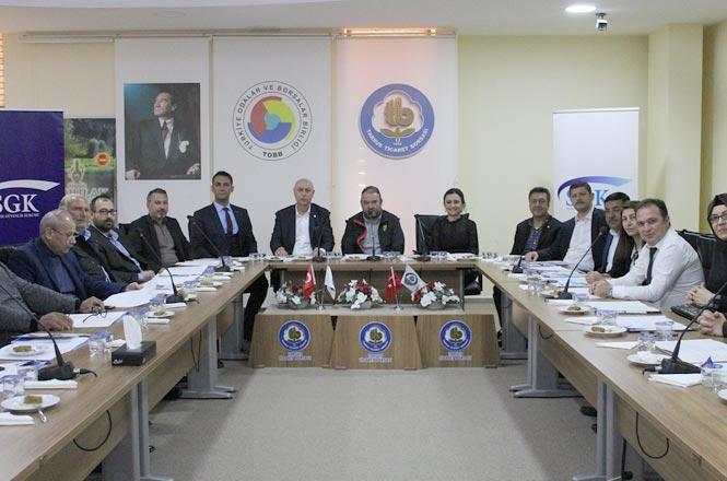 Tarsus Ticaret Borsasında İstihdam Seferberliği Toplantısı