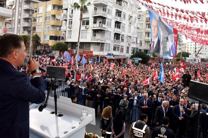 Başkan Tuna, Mersinlilere Teşekkür Etti