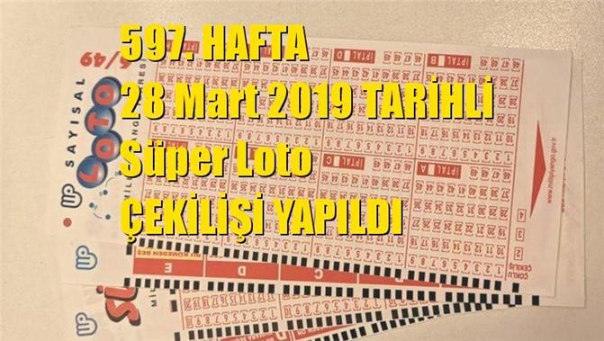 Süper Loto Sonuçları 28 Mart 2019 Tarihli Çıkan Sayılar: 11 - 27 - 46 - 49 - 51 - 53
