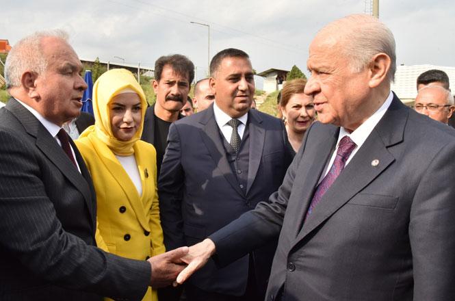Erdemli, Türkmen Beyini Karşıladı