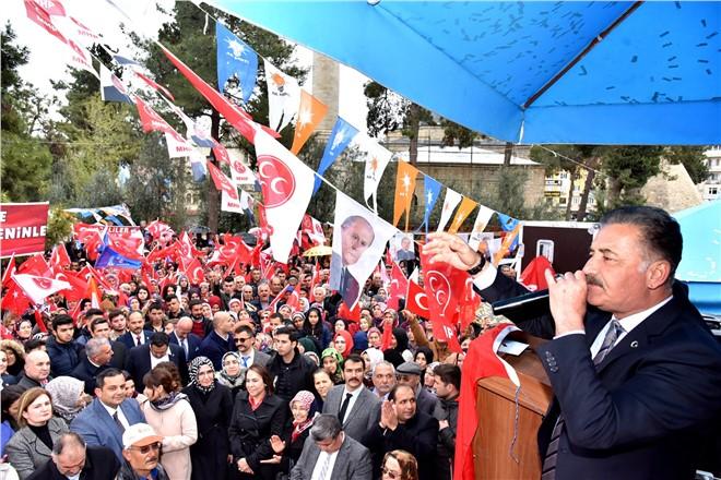 """Başkan Tuna; """"Milletimiz, Cumhur İttifakı'nda Kararını Vermiş"""""""