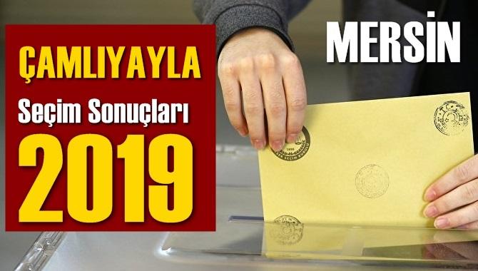 Mersin Çamlıyayla Seçim Sonuçları 2019, Çamlıyayla hangi parti kazandı? Sandık sonuçları? Oy Oranları?