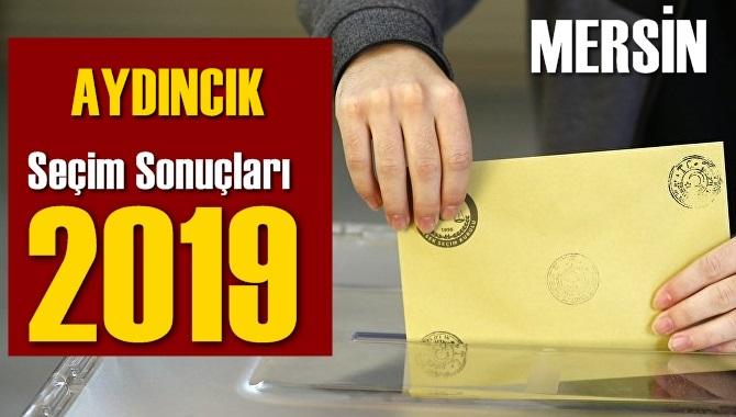 Mersin Aydıncık Seçim Sonuçları 2019, Aydıncık hangi parti kazandı? Sandık sonuçları? Oy Oranları?