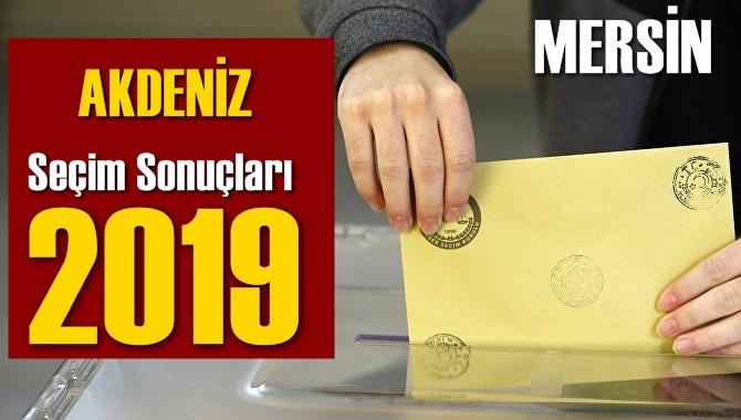 Mersin Akdeniz Seçim Sonuçları 2019, AKDENİZ hangi parti kazandı? Sandık sonuçları? Oy Oranları?