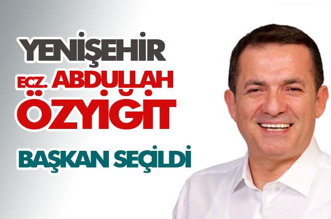 CHP Yenişehir Belediye Başkan Adayı Ecz. Abdullah Özyiğit Kazandı