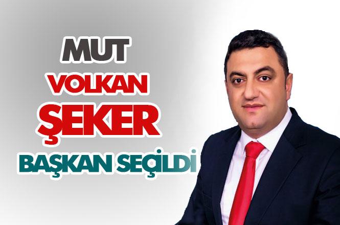 MHP Mut Belediye Başkan Adayı Volkan Şeker Kazandı