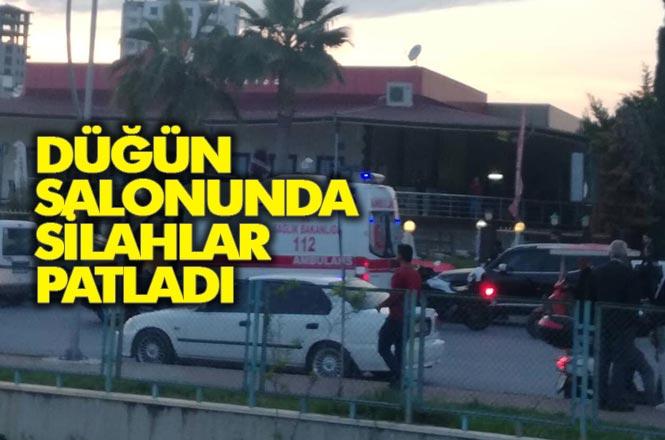 Mersin Tarsus Altaylılar Mahallesi( Ülküköy)'ndeki Bir Düğün Salonunda Silahlı Bıçaklı Kavga 3 Yaralı