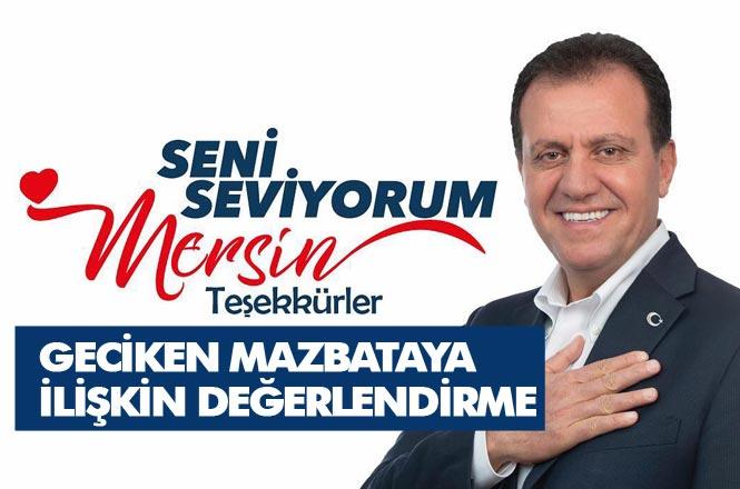 """Mersin'de Sandıktan Kazanan Olarak Çıkan CHP'li Vahap Seçer, """"Seçim Sonuçlarına Yapılan İtirazlar Mesnetsiz ve Beyhude"""""""