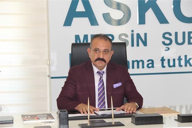 ASKON Mersin Şube Başkanı Hasan Arslan'dan Avukatlar Günü mesajı