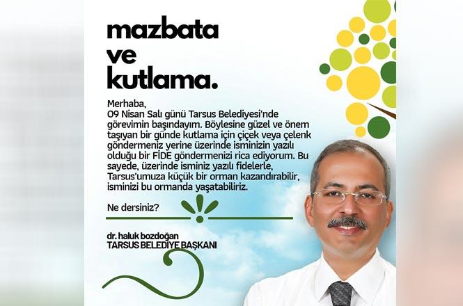 Başkan Dr. Bozdoğan'dan Örnek Davranış