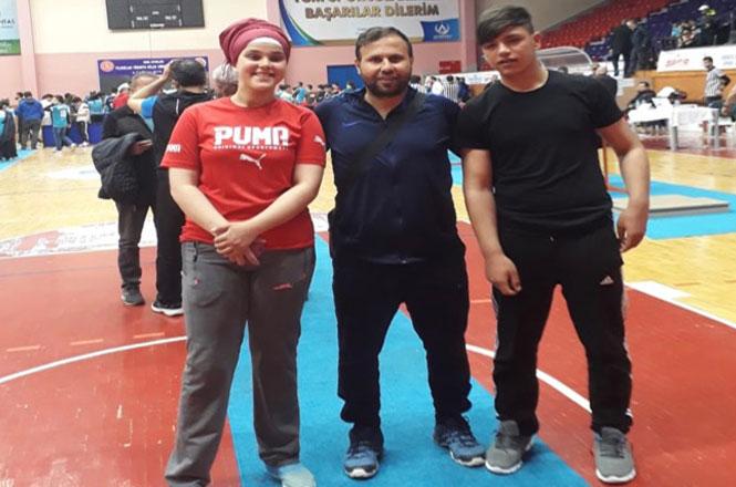 Tarsuslu Bilek Güreşçisi Öğrenci Sarıkaya Tarsus'un Gururu Oldu