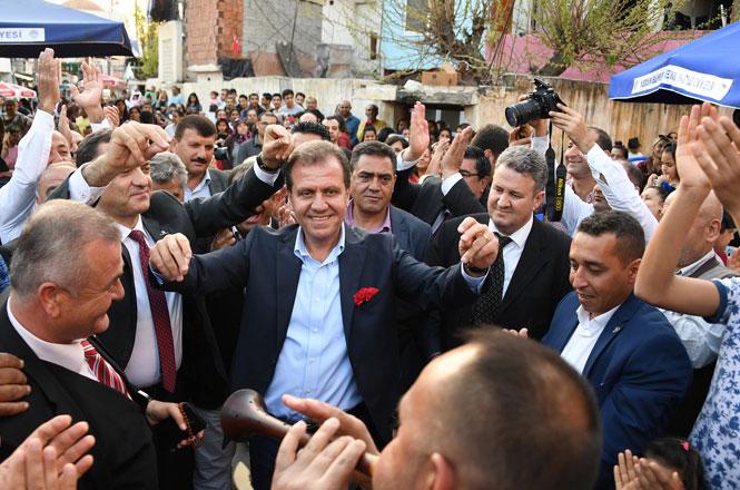 Mersin Büyükşehir Belediye Başkanı Vahap Seçer Roman Kardeşler İle Bir Araya Geldi