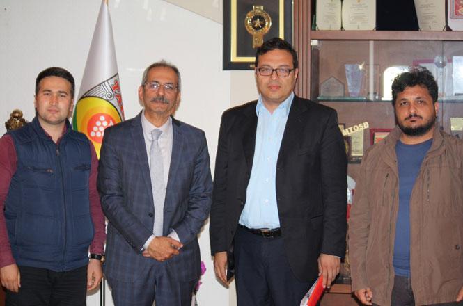 Başkan Dr. Haluk Bozdoğan'a, 27 Aralık Gazetesi ve İBT Medya'dan Ziyaret