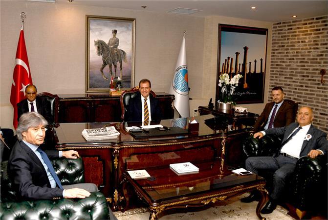 MTSO'dan Başkan Seçer'e Hayırlı Olsun Ziyareti